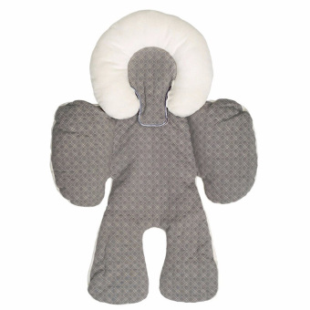 Harga Lemon Baby Head And Body Support Pillow For Car Seat &Amp;Stroller (Grey) - intl