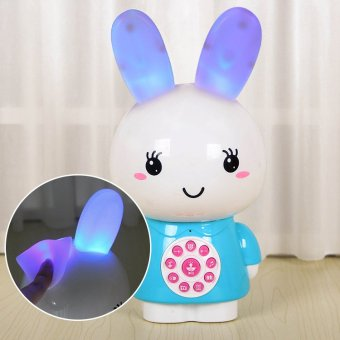 Harga Small rabbit child story machine learning machine educational toys can download mp3 rechargeable baby early learning machine