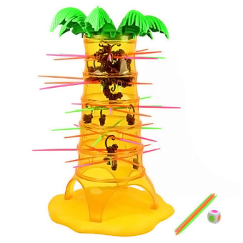 Harga Children Babies Kids Falling Tumbling Monkeys Board Game Educational Toy
