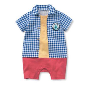 Harga Boy Outfits Baby Clothes Kids Onesie Child One-Piece Clothing Boys Romper Outfit