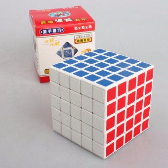 ShengShou 5x5 Magic Cube 5x5x5 Speed Cube Puzzle Twist Frosted Sticker - intl