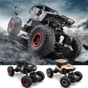Harga JJRC Q50 1/18 2.4GHz 4WD Alloy RC Rock Crawler Car Car toys - intl