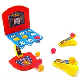 Harga Desktop Interactive Game Mini Basketball Shooting Toys Set Child Color Marble Game - intl