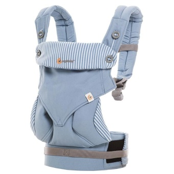 Harga Manufacturers Ergo-baby Back with Four Style 360 Baby Baby Sling Cotton Multifunction Baby Carrier Air Section(Light Blue) - intl