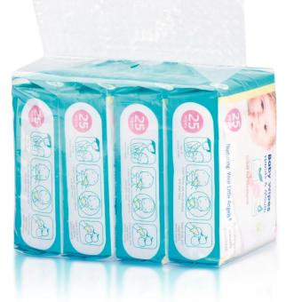 Harga Babisil Baby Wipes Hands & Mouth (1 Carton = 12 x 4packs of 25 Wipes each)