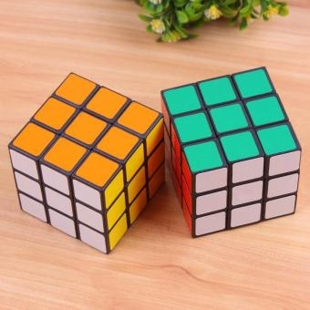 Magic Cube Game the puzzle Ultra-Smooth Twist Rubic's Rubiks Rubix toy - intl