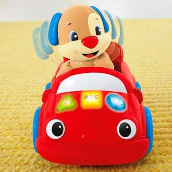 Harga Fisher - Price Laugh & Learn™ Puppy's Smart Stages™ Push Car