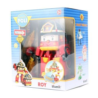 Harga Robocar Poli Original authentic DELUXE Transformer Robot Car Toy (Roy)