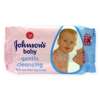 Harga Johnsons Baby Gentle Cleansing Wipes 56 Wipes x 27 packs - 9772