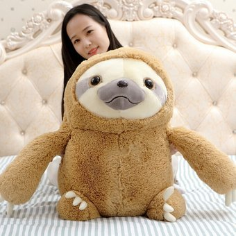 Harga 1pc 40/50/70cm Zootopia Plush Toy Children Cartoon Cute Adorable Pet Sloth Plush Toy Doll Kawaii Doll
