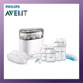 Harga Philips Avent 4 in 1 Electric Sterilizers With Newborn Set