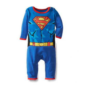 Cartoon Baby Boy Onepiece Romper Playsuit Jumpers Outfits