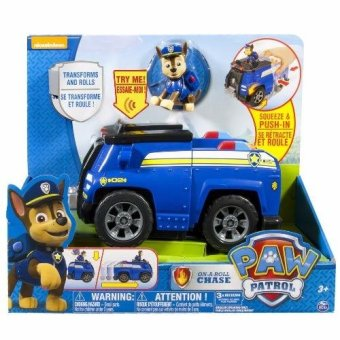 Harga Nickelodeon, Paw Patrol - Chase's Deluxe Cruiser