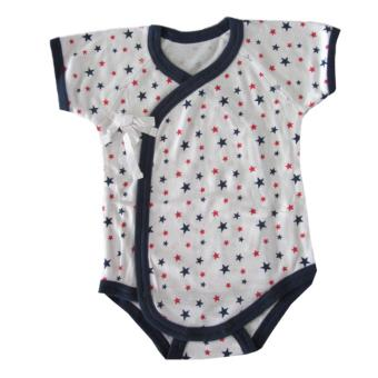 Harga Newborn Romper (Kimono style side with straps)0-4months