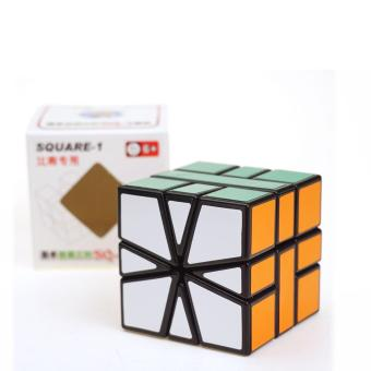 Harga Shengshou Square-1 SQ1 3x3x3 Speed Magic Cube Puzzle Cubes Toys For Kids - intl