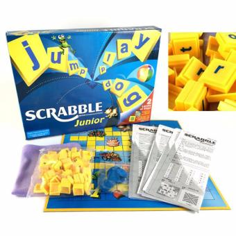 Harga XTV Junior Scrabble 2 Levels of Play Two Fun Word Game In One Funny Education Toy