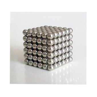 Harga 5mm 216 Pcs Neo Cube Magic Cube Puzzle Magnetic Cube Balls with Metal Box Present for Children Gifts - intl
