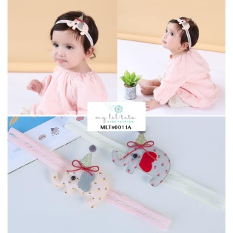 Harga Korean Style Cute Baby Pink Elephant Hairband Toddlers Girls Children