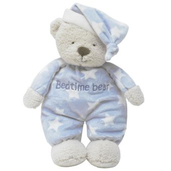 Harga 37cm Newborn Baby Kids Bedtime Bear Kawaii Soft Sleeping Doll Stuffed Toy - intl