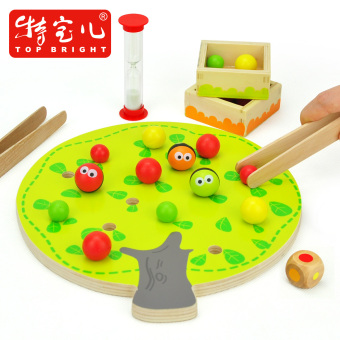 Harga Boa fruit clip music child puzzle montessori early childhood wooden toys intelligence toys fun interactive games