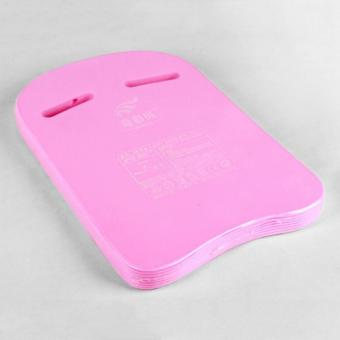 Harga U Shape Thickened Swimming Leaner Kickboard Swimmer Floating Plate EVA Body Board (Pink) - intl