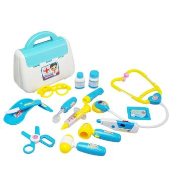 Harga Ajusen Pretend Play Doctor toys Simulation Medicine Medical Kit Kids Baby Children's Toys for boys and girls Funny Pretend Play - intl
