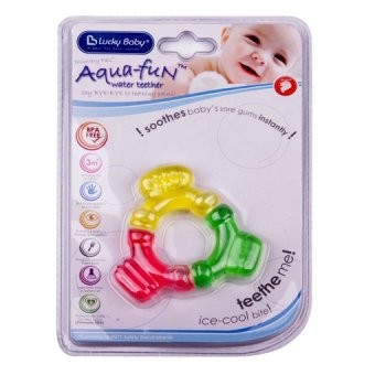 Harga Lucky Baby® 606001 Aqua-Fun™ Water Teether - Colours Ring