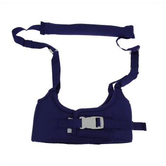 Harga Baby Toddler Anti-slip Walking Wings Harness Strap Safety Reins Learning Assistant Learning to Walk Safety Walker Navy Blue - intl