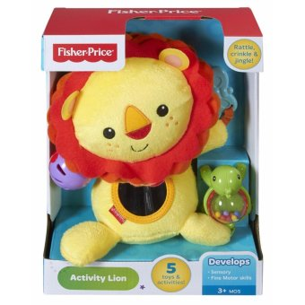Harga Fisher-Price Activity Toy, Lion