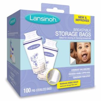 Harga Lansinoh Breastmilk Storage Bags, 100 Count, BPA Free and BPS Free (Packaging May Vary)