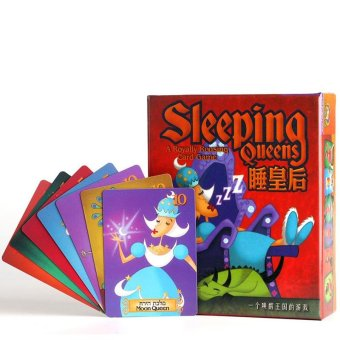 Sleeping Queens Board Game Kids Educational Toys with English Instructions - intl