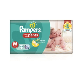 PAMPERS PAMPERS BABY DRY PANTS M46
