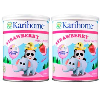 Harga Karihome - Milk Sweeties Strawberry Flavour(Pink Strawberry)