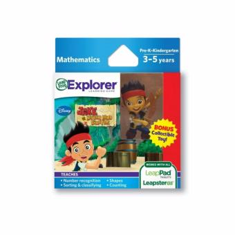 Harga LEAPFROG Explorer Software Learning Game: Disney Jake and the Neverland Pirates (With Bonus Collectible Toy)