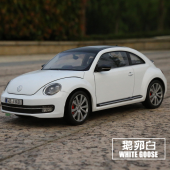 Harga Willie welly 1:18 Volkswagen new Beetle collection car models original simulation alloy car model