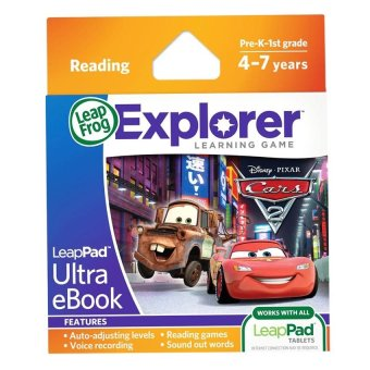 Harga LEAPFROG Explorer Software Learning Game: Disney • Pixar Cars 2 (Reading)