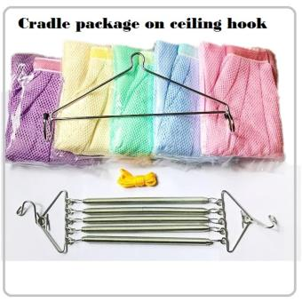 Harga Manual Swing Package for ceiling cradle/hammock/yaolan/spring cot/sarong(premium 5pcs springs)