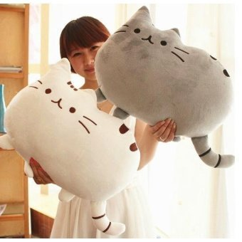 Harga Lovely Pusheen cat Plush toy Novelty item soft plush doll pusheen cat for girls kids, kawaii,cute cushion brinquedos, birthday