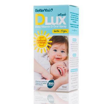 Harga Better You DLUX Infant Vitamin D Spray 15ml