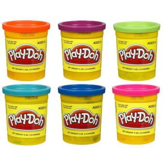 Harga Play-Doh Single Can Assortment ( 6 cans )