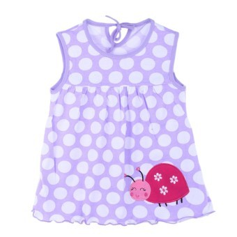 Harga Baby Girls Cartoon Dress (Purple)