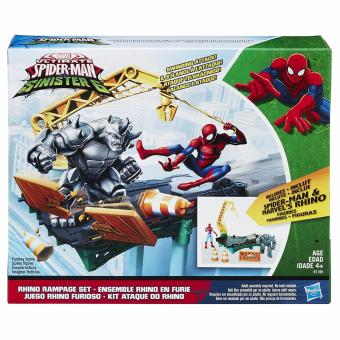 Harga Marvel Spider-Man Rhino Rampage Play Set