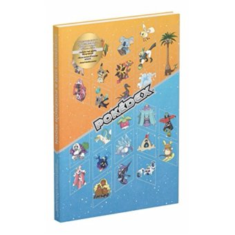 Harga Pokemon Sun & Moon guide book Collector