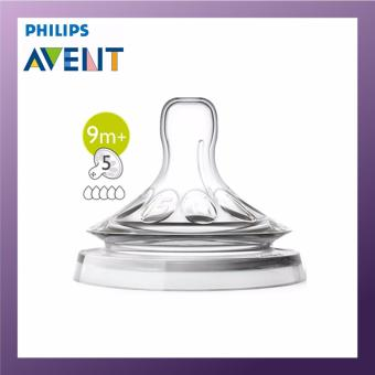 Harga Philips AVENT TEAT NATURAL FAST FLOW 9M+