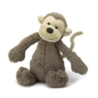Harga Jellycat Bashful Monkey Medium 31cm 1s