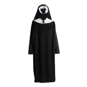 Harga Andux Women's Cosplay Nun Costume SS-XNF01 Black