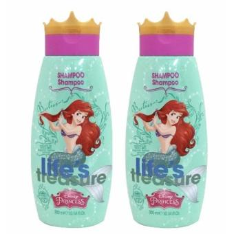 Naturaverde Disney Princess Shampoo Ariel 300ml x2 bottles