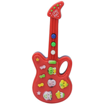 Musical Educational Guitar Baby Kids Children Portable Music Cartoon Toy Gift - Intl - Intl