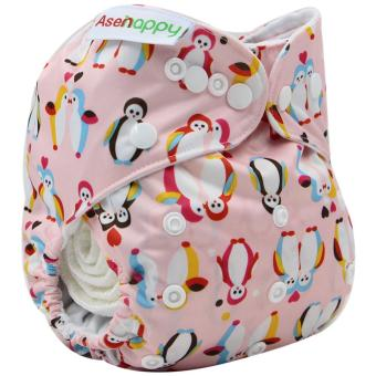 Asenappy Resuable Pocket Cloth Diapers Nappy With One insert