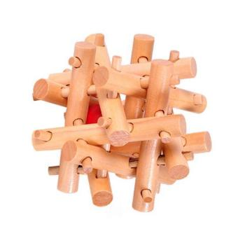 Harga BolehDeals Wooden Toys Adults Kids Twelve Sister Cage Kong Ming Lock Unlock Puzzle Game - intl